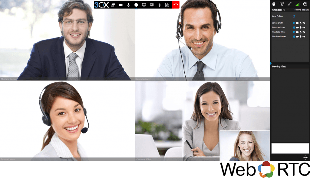 3CX Web Conferencing - Get Connected Instantly | Pegas, Maine